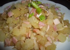 Maďarský bramborový salát se slaninou Pasta Salad, Potato Salad, Potatoes, Ethnic Recipes, Food, Crab Pasta Salad, Potato, Essen, Meals