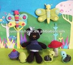 Knitting patterns for soft toys