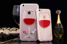 Get yourself or gift a friend a fancy transparent wine iPhone cover. Order yours no for $10.50!!