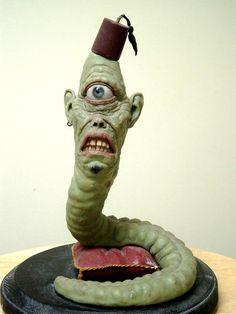 Las monstruosas esculturas de Jordu Schell