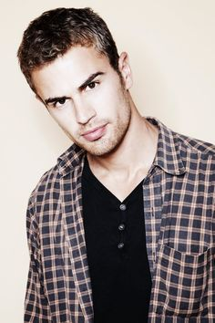 "Four aka ""Theo James"" lol I LOVED him in Divergent and Insurgent and was going to put more than one picture of him on here, but once I started browsing I noticed he has the same look on his face in 99% of his pictures lol."
