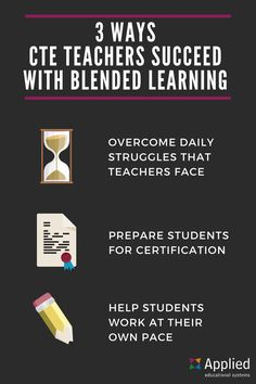 3 Ways CTE Teachers Succeed with Blended Learning