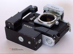 Full setup of Nikon F36 motor Drive Unit BASE VIEW