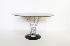 Isamu Nogushi cyclone dining table by knoll http://www.galerie44.com/fr/collection/mobilier/table-isamu-nogushi-detail