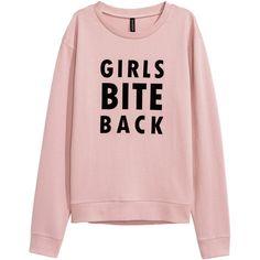 Printed Sweatshirt $9.99 (290 UYU) ❤ liked on Polyvore featuring tops, hoodies, sweatshirts, sweaters, shirts, sweatshirt, floral sweatshirts, pink sweatshirts, flower print shirt and pink shirt