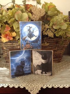Tis the Season of Witches and Black Cats - an OFG Team Treasury by Susan Smith on Etsy