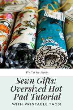 Small Sewing Projects, Sewing Projects For Beginners, Sewing Hacks, Sewing Tutorials, Sewing Tips, Tutorial Sewing, Quilting Tutorials, Craft Projects, Fabric Crafts