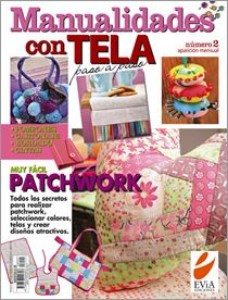 Manualidades con TELA Nº 02 - 2008