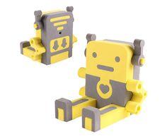 Foxjail Robot Smartphone Stand #Robot #phone #Christmas
