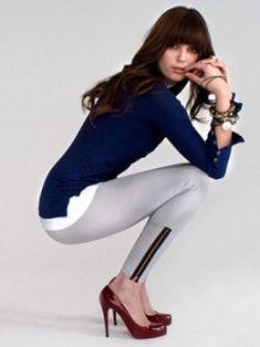 How To Wear Leggings - Tops To Wear With Leggings - Tips On Wearing Leggings | Grace n Glamour