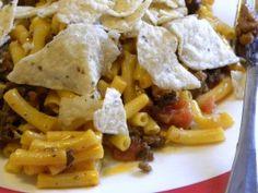 Nacho Cheeseburger Macaroni (Crockpot)