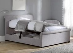 wilson ottoman bed frame dreams simplicity construction and comparatively low cost make the Grey Bed Frame, King Bed Frame, Bed Frame And Headboard, Upholstered Bed Frame, Upholstered Ottoman, Bed Frames, Ottoman Storage Bed, Ottoman Bed, Bed Storage