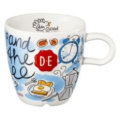 Bekijk hier de folder artikelen! - Cappuccinomok blauw D.E Zegel - Douwe Egberts &meer