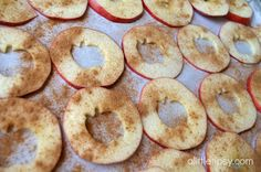 A Little Tipsy: Baked Apple Chips