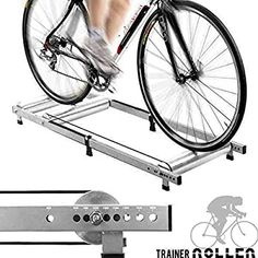 Bike Rollers - Alloy Indoor Bicycle Bike Rollers Roller TRAINER *** For more information, visit image link. Bike Equipment, No Equipment Workout, Bicycle Rollers, Cycling Rollers, Bike Gadgets, Bike Trainer, Bicycle Workout, Spin Bikes, Cycling Gear