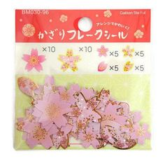 JAPANESE Origami Chiyogami 32 Sheets Two Sizes 8 Colours Spotty Pattern Overig