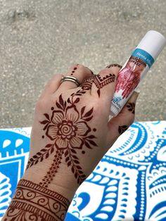 Aftercare Balm for Henna - henna designs - Mandala Tattoo Design, Henna Tattoo Designs, Henna Flower Designs, Mehndi Art Designs, Henna Designs Easy, Beautiful Henna Designs, Latest Mehndi Designs, Flower Henna, Mehndi Designs For Hands