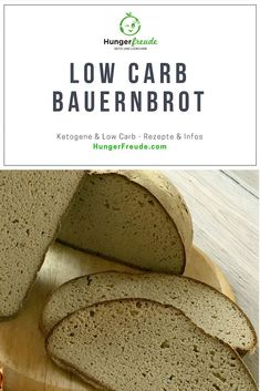 Unser Feines: LowCarb Bauernbrot mit Hefe - HungerFreude - Ketogene & Low Carb Rezepte A simple tasty low carb recipe. carb and easy Keto Low Carb Bread, Keto Bread, Low Carb Keto, Low Carb Desserts, Low Carb Recipes, Healthy Recipes, Low Carb Breakfast, Breakfast Recipes, Law Carb