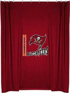 Tampa Bay Buccaneers Shower Curtain