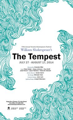 The Tempest Poster on Behance