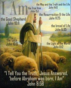 "the great i am | Yahweh, the Great ""I AM,"" and Yahshua Are One!"