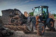 Top 5 Reasons to Own a Compact Wheel Loader from CASE | Rock & Dirt Blog Construction Equipment News & Information #CaseCE #RockandDirt #WheelLoaders