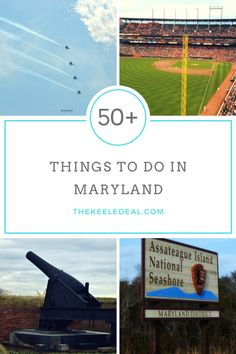 The Ultimate Maryland Bucket List. There are so many things to do in Maryland! Here are 50+ Things to do in Maryland plus a free printable bucket list! thekeeledeal.com