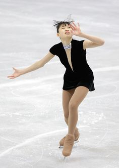 Christina Gao Ira Christina Gao of the United States competes in the Ladies Short on day five of the 2011 World Junior Figure Skating Championships at Gangneung International Ice Rink on March 4, 2011 in Gangneung, South Korea.