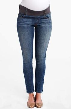 Maternal America Maternity Ankle Skinny Jeans.#ad