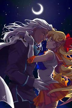 Lord Kaspar + Sailor Venus