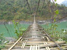 A bridge over mighty Brahmaputra River Brahmaputra River, Arunachal Pradesh, Life Is An Adventure, Travel Agency, Railroad Tracks, Bridge, Wildlife, Tours, Explore
