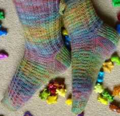 Looking for your next project? You're going to love Primrose Path Socks by designer JaneHoworthKnit.