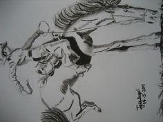 The cowboy- by jose angel barbado - losdibujosdejoseangelbarbado.blogspot.com