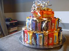 neat alternative for those who like candy more than cake.