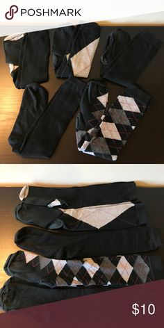 🚨MAKE OFFER🚨 Five (5) Pairs Knee High Socks Bundle of Five (5) Pairs Knee High Socks 🔹Some may show slight pilling/fading. See pics for detail.  ✅Offers Welcome w/Offer Button 🚫Trade 🚫PP 💰30%OffBundle 📦Ships1Day. Accessories Hosiery & Socks