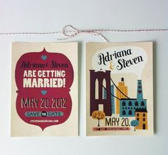 cute save the date by Rocket Ink Photo Wedding Invitations, Save The Date Invitations,