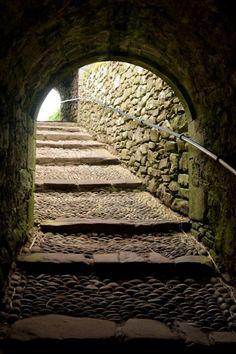 Through the gatehouse: Dunottar Castle