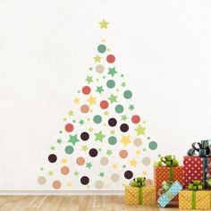 Christmas Stars & Dots Seinätarra AllPosters.fi-sivustossa