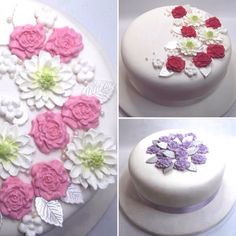 #JustAddCake. It kind of sums up what I do and here I have a selection of my #cakedecorating sets which come complete with colour matching ribbon to go round the cake that just needs to be added to make that special occasion cake well special. I have more on my #eBay store with a selection on my #Etsy store. #sugarcraft #wedding #weddingcake #birthday #birthdaycake #anniversary #anniversarycake #ebayseller #etsyuk #handmade #Bristol #crafting #cakeinspiration #sugarflowers