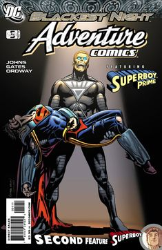 Blackest Night Superman | That's Black Lantern Alexander Luthor (Earth 3?) and Superboy Prime ...