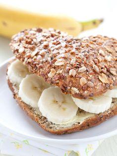Mmmm...a banana sandwich! So yummy!
