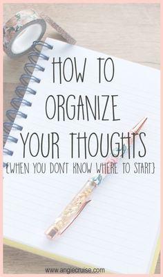Blog Writing, Writing Tips, Writing Prompts, Writing Skills, Journaling, To Do Planner, Brain Dump, Thing 1, Life Organization