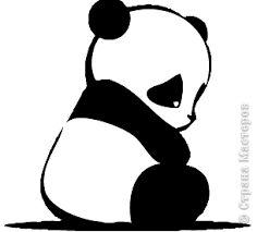 Картинки по запросу панда рисунок