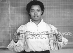 "James R Murphy began teaching mathematics using string figures to engage students who didn't ""like"" math. Students in the eighties and string, made for an unconventional recipe for these great photographs by Robin Moore."