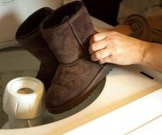 How to Clean Ugg Boots in a Washing