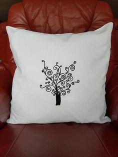 Deko Kissenbezug Stilisierte Modern, Bed Pillows, Pillow Cases, Tote Bag, Environment, Decorative Pillow Covers, Unique Gifts, Wire, Linen Fabric