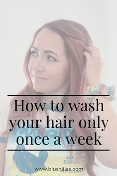 Wash your hair less with these tips and tricks. Click to read how! #hairwashingtricks #haircare #washhairless #scrunchies Protective Hairstyles, Cool Hairstyles, Using Dry Shampoo, Dry Scalp, Hair Care Tips, Hairspray, Damaged Hair, About Hair, Mom Style