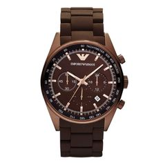 Emporio Armani - man's new watch Emporio Armani, Armani Men, Armani Watches, Rolex Watches, Black Stainless Steel, Stainless Steel Watch, Sport Watches, Watches For Men, Wrist Watches