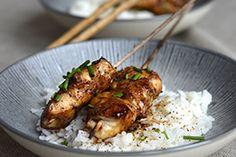 Qooking.ch   Brochettes à la japonaise Asian, Meat, Chicken, Food, Skewers, Asian Cuisine, Meals, Yemek, Buffalo Chicken