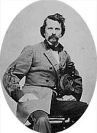 Major General Earl Van Dorn - CSA Commander, Army of the West.  Van Dorn graduated WP in 1842, and served with distinction in the Mexican War and in Indian battles.  He was given command of the Trans Mississippi in 1862 and suffered defeats at Pea Ridge and Corinth.  Later transferred to Cavalry near Vicksburg.  Killed by a civilian in 1863 who believed Van Dorn had had an affair with his wife.  Forrest, Morgan & Wheeler all served under him.(West Point - Class of 1842.)